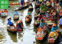 [Tour] Bangkok, Thailand Damnoen Saduak Floating Market Half-day tickets including shuttle Chinese Customer